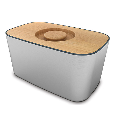 JOSEPH JOSEPH Stainless steel bread bin
