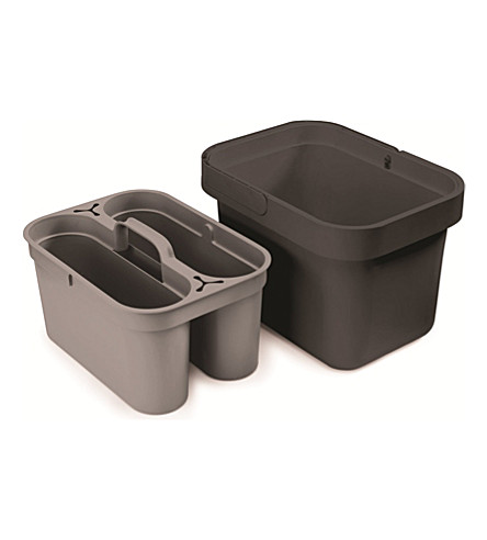 JOSEPH JOSEPH Clean & Store cleaning bucket (Greygrey