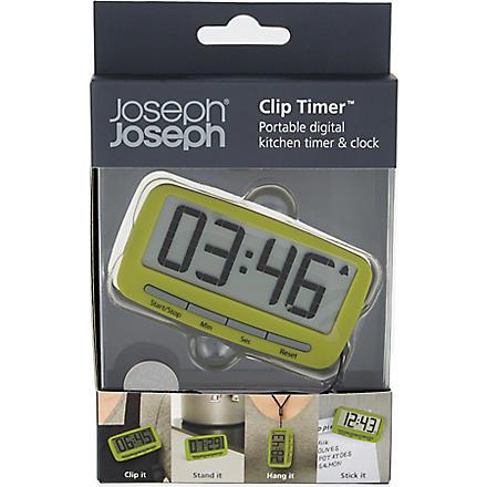 JOSEPH JOSEPH Digital clip timer (Green
