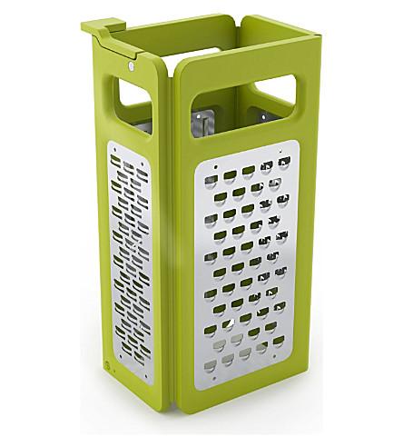 JOSEPH JOSEPH Fold-flat grater (Green