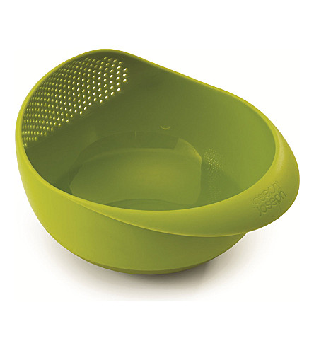 JOSEPH JOSEPH Prep & Serve small multi-function bowl (Green