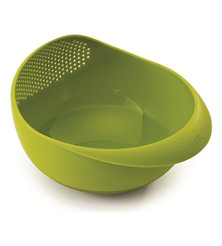 JOSEPH JOSEPH Prep & Serve small multi-function bowl (Green
