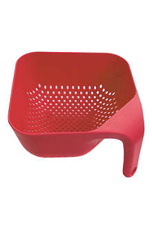 NONE Square red colander