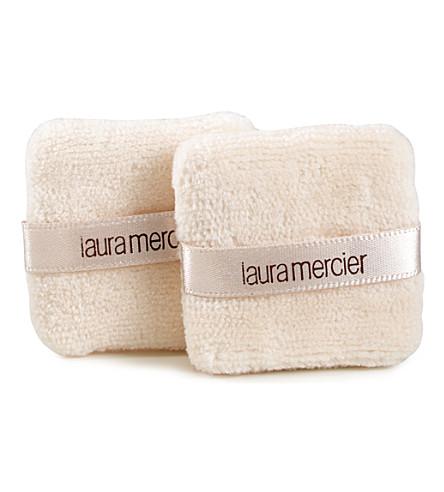 LAURA MERCIER Foundation powder puff two pack