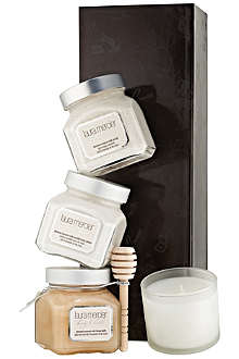 LAURA MERCIER Almond Coconut Milk Body & Bath Luxe Quartet