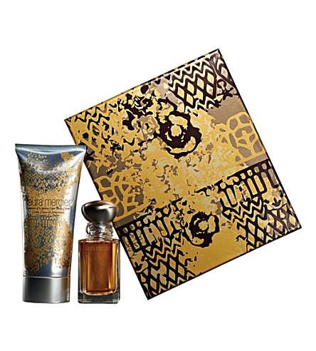 LAURA MERCIER Lumière d'Ambre eau de parfum gift set