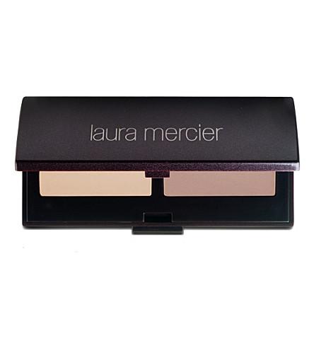 LAURA MERCIER Brow powder duo (Deep blonde