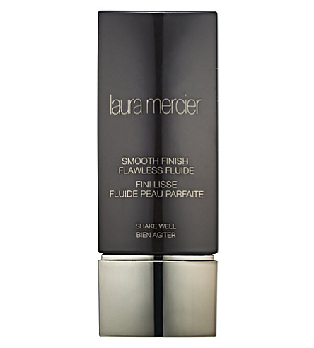 LAURA MERCIER Smooth Finish flawless fluide foundation (Amber