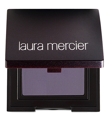 LAURA MERCIER Matte eye colour (Black+plum
