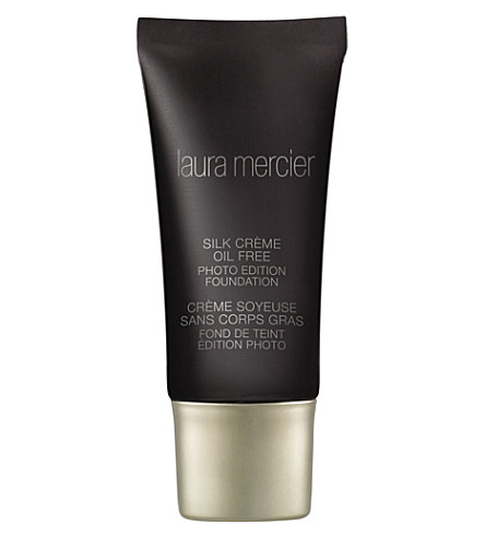 LAURA MERCIER Silk Crème - Oil Free Photo Edition Foundation 30ml (Bamboo+beige