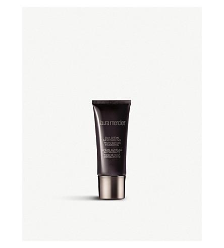 LAURA MERCIER Silk Crème – Moisturizing Photo Edition Foundation 30ml (1n0+vanille+ivory