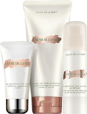 CREME DE LA MER The Reparative Sun Collection