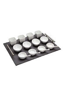 KITCHEN CRAFT Little Treasures 13-piece appetiser gift set