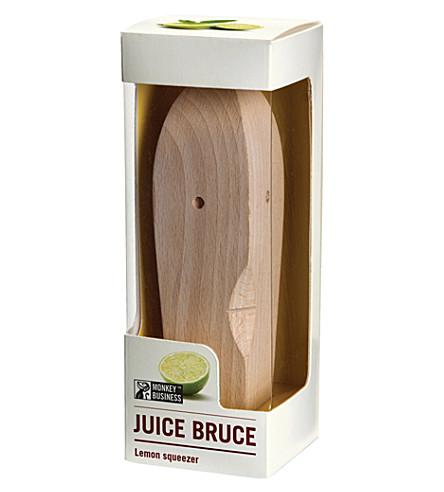 LUCKIES OF LONDON Juice Bruce wooden squeezer