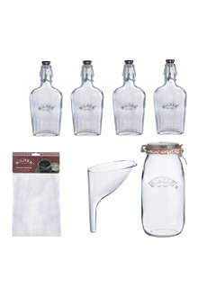 KILNER Eight-piece gin set