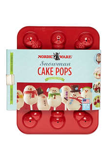 NORDICWARE Snowman cake pop moulds