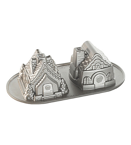 NORDICWARE Gingerbread house duet pan