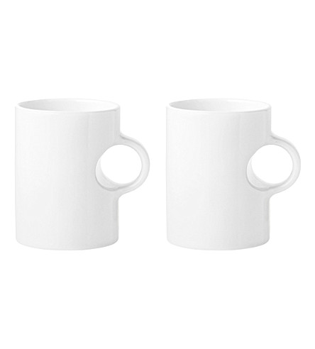 STELTON Set of two Circle mugs