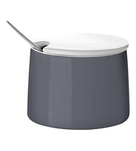 STELTON Emma porcelain sugar bowl