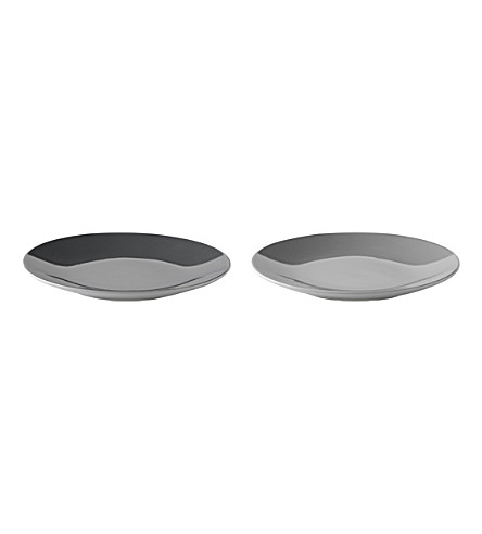 STELTON Set of two Emma plates