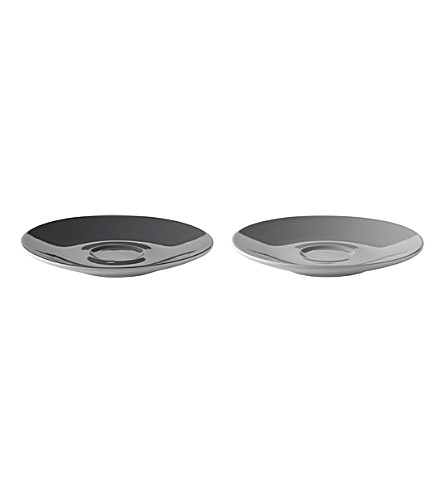 STELTON Set of two Emma saucers