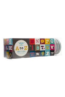 CUBIC A to Z paper cups