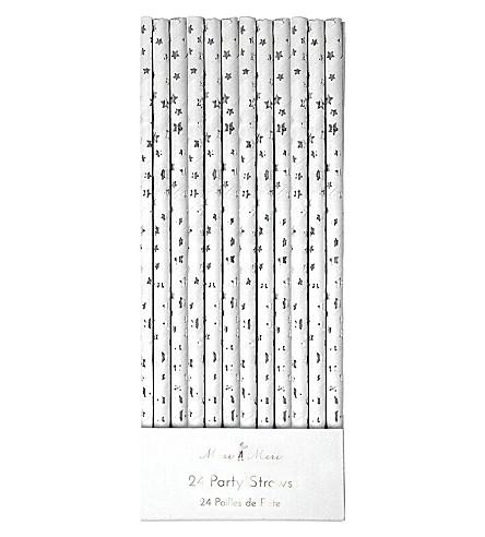 MERI MERI Star paper party straws