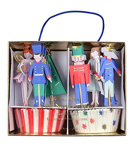 MERI MERI Nutcracker paper cupcake kit