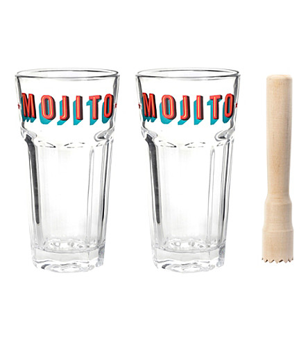 KIKKERLAND Mojito cocktail set
