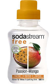 SODASTREAM Free passionfruit and mango flavoured drink mix 500ml