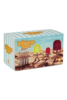 MUSTARD Lollypop Men popsicle moulds
