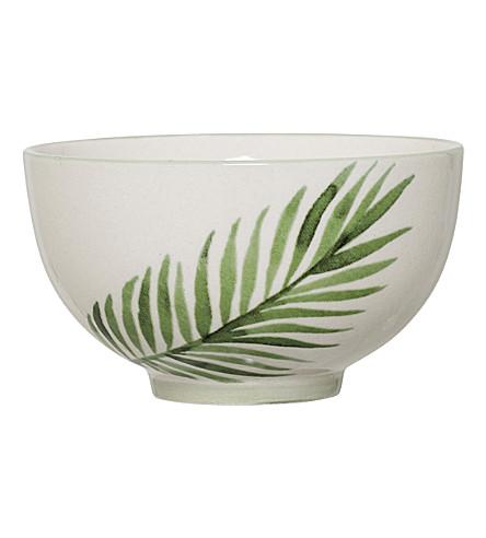 BLOOMINGVILLE Pacific Jade stoneware bowl 11.5cm