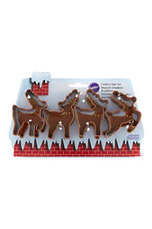 WILTON Cookie cutter set 4-pack