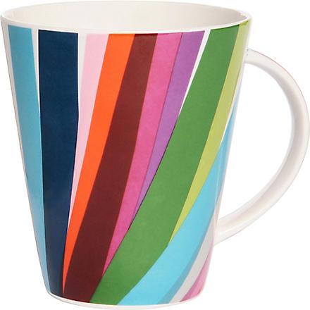 FRENCH BULL Grass-print tall mug