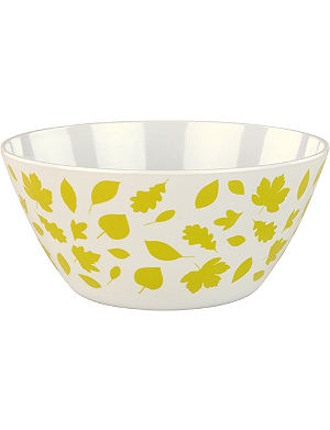 ANORAK Woodland Leaves large salad bowl