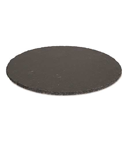 BOSKA Slate Lazy Suzan cheese board