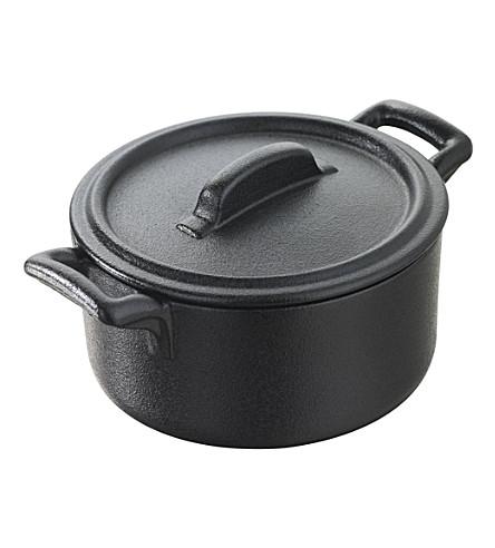 REVOL Porcelain miniature casserole dish 7cm