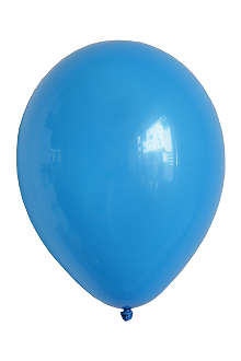 NONE Pack of 10 blue balloons