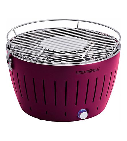 LOTUS GRILL Smokeless BBQ purple