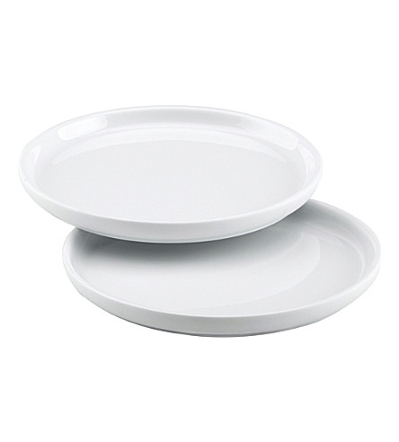 SKAGERAK Nordic set of two porcelain plates
