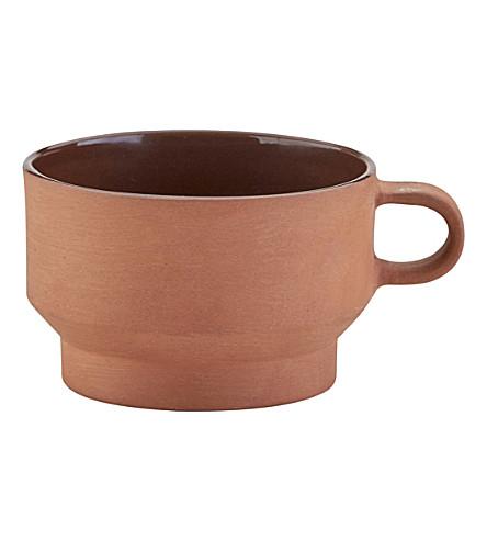 SKAGERAK Edge terracotta cup