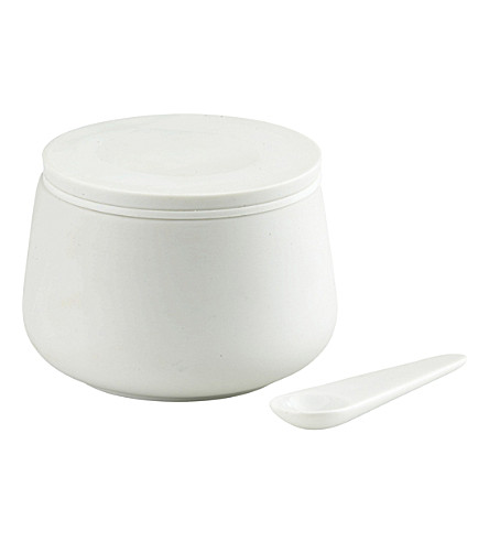 SKAGERAK Nordic porcelain jar with spoon