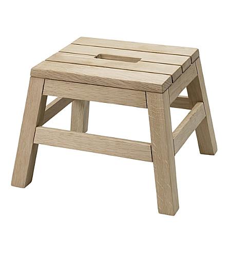 SKAGERAK Dania oak stool