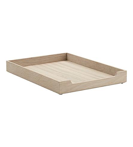 SKAGERAK Nomad oak letter tray