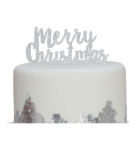 GINGER RAY Merry christmas cake topper