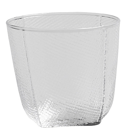 HAY Tela hand-blown glass tumbler 250ml