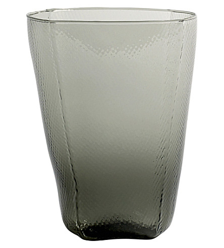 HAY Tela hand-blown glass tumbler 450ml