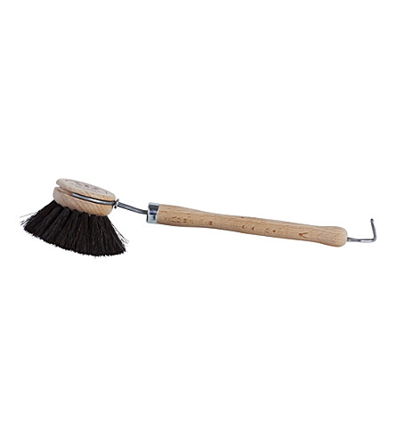 HAY Natural bristles and beech wood dishwashing brush