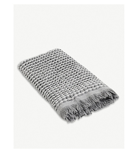 HAY Waffle cotton guest towel