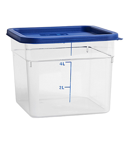HAY Plastic coloured lid container 5l